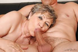 Granny give blow job