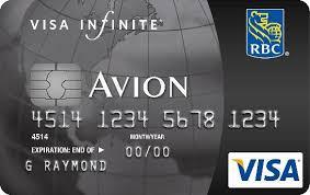 rbc visa infinite avion travel rewards