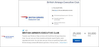 British Airways New Avios Chart Is Out And Heres How The