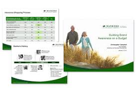 Bankers Life And Casualty Powerpoint Design