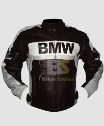 relay bmw racing biker leather jacket