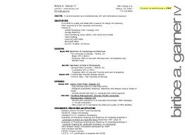models of resumes