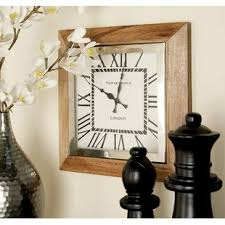 office large size floor clocks wayfair. Stainless And Steel Wood Wall Clock Office Large Size Floor Clocks Wayfair
