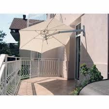 paraflex large round wall mounted parasol
