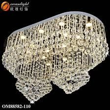 modern led lighting fixture luxury chandeliers with hotel om88582 110