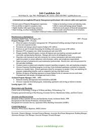 Assistant Property Manager Resume Examples Unusual Property Management Assistant Resume Samples Property 3