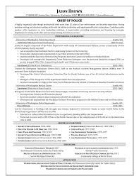 Leading Law Enforcement Security Cover Letter Examples Resume