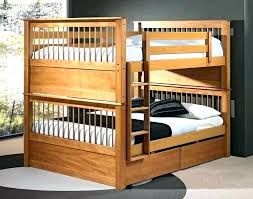 queen bunk bed with trundle full over stairs diy plans