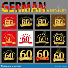 Sixty Design Set Of Number Sixty 60 Years Celebration Design Anniversary