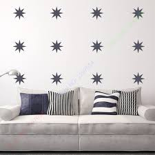 points stars vinyl wall sticker wall decals art for kids nursery room decor wall stickers on stars vinyl wall art with aliexpress buy points stars vinyl wall sticker wall decals art