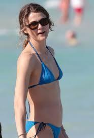 Keri Russell Keri Russell In Blue Bikini On The Beach In Miami Hawtcelebs