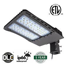 How To Change A Parking Lot Light Bulb Antlux Led Parking Lot Lights 150w Led Shoebox Pole Lights