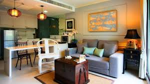 living room kitchen combo small living space design ideas you living room dining
