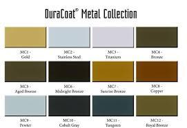 Aluma Hyde Ii Color Chart Duracoat Aerosol Kit Metal Collection Colors