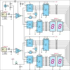 afx slot car lap counter circuit diagram