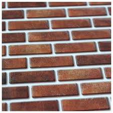 Wall Tile For Kitchen Peel And Stick Wall Tile In Brick Style For Kitchen And Bathroom 6