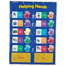 Classroom Assignment Chart Helping Hands Assignment Chart Classroom Helpers