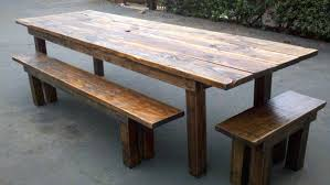 rustic wooden outdoor furniture. Wood Patio Furniture Plans Great Rustic Outdoor Dining Table Benches House Living Rooms . Wooden