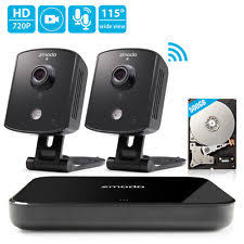 wired security cameras vs wireless security cameras zmodo 1080p 4ch hdmi nvr 2 1 0mp wifi ip audio home security camera system 500gb