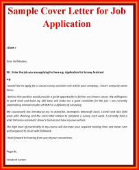 Cover Letter Template Job Apa Example