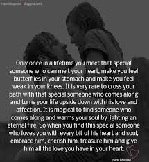 Only Once In A Lifetime You Meet That Special Someone Simple You Are Special Quotes