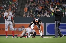 Dustin Pedroia not mad at Manny Machado for spiking him, but Boston Red  Sox's Matt Barnes hasn't forgotten incident - masslive.com