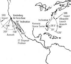 Image result for us space rockets launching bases map