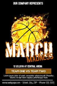 March Madness Flyer March Madness Flyer Template Click To Customize Basketball