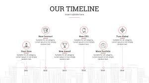 15 Easy To Use Google Slides Timeline Templates