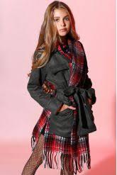 Купить <b>пальто</b>, цвет серый для девочки «Noble <b>People</b>» на ...