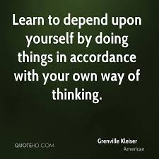 Quotes About Doing Something For Yourself Best of Grenville Kleiser Quotes QuoteHD