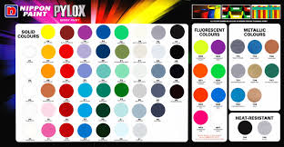 Nikko Spray Paint Color Chart Nippon Car Paint Color Chart Www Bedowntowndaytona Com