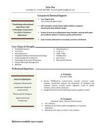 Gallery Of Word Resume Template Mac