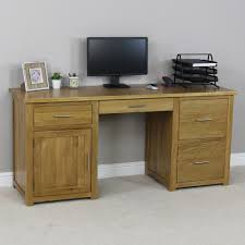 london oak large pedestal home. london oak large pedestal home office desk the furniture market