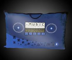 Ipod Pillow Imusic Bluetooth Pillow Dudeiwantthatcom
