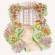 Small Picture Front Yard Rose Garden Plan