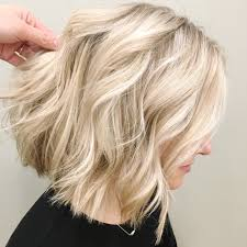 Blonde Hair Style lob blunt cut blonde babylights ash blonde hair color 8404 by wearticles.com