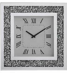 gatsby mirror clock modern elegant