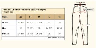 Tuffrider Childrens Minerva Equicool Tights 100974 533
