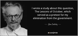 Image result for Trotsky Lessons of October images
