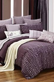 gvine duvet set purple on hautelook