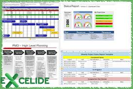 microsoft excel project management templates excelide microsoft excel project management templates and training