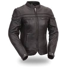 first manufacturing s women s sporty riding jacket brown loading zoom