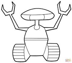 Robots Coloring Pages Learny Kids