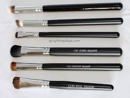 makeup brands with crown brushes top to bottom infinity round blender brush syntho makeup geek review