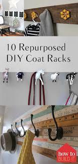 Coat Rack Decorating Ideas Impressive Home Decorating Ideas For Cheap Coat Racks Repurposed Coat Racks