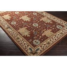 mission style area rugs arts crafts mission style rust brown decor wool area rug shaw mission