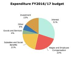 Federal Budget Pie Chart 2015 A Visual Guide To The 2016 17 Budget Mada Masr