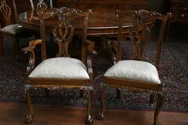 Chippendale Dining Room Table Ball And Claw Philadelphia Chair