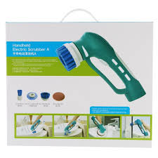 automatic power spin scrubber prettyui handheld cleaning brush kit